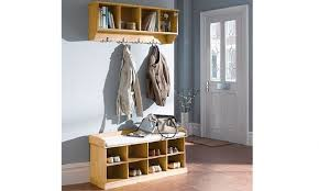 Coat Shoe Rack Bench