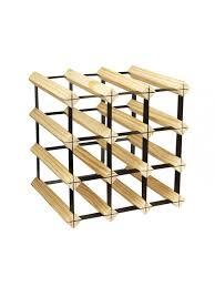 wood metal wine rack. Contemporary Rack 12 Bottle Wood U0026 Metal Wine Rack Stackable For U