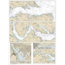 Potomac River Charts Noaa Chart Potomac River District Of Columbia 12285