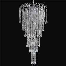 entry foyer chandelier cascade 532tf42sp 7c