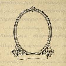 simple frame tattoo. Unique Simple Printable Image Elegant Oval Frame And Scroll Banner Digital Blank Ornate  Design Graphic Download Antique Clip And Simple Tattoo N
