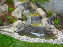 Small Picture Astounding Small Backyard Ponds And Waterfalls Images Design Ideas
