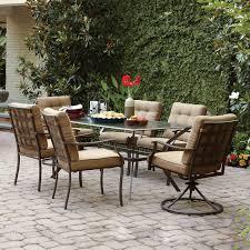 wicker patio dining set alaska garden outdoor
