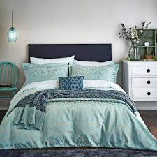 bedeck loya mint duvet covers