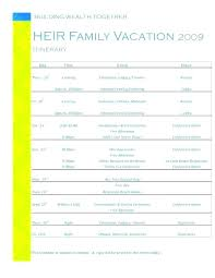 Business Trip Planner Travel Itinerary Planner Template Creating A Plan Itinerary Template