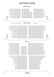 Motown The Musical Seating Chart Shaftesbury Theatre Seating Plan For The Show Mowtown The