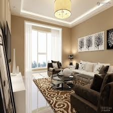 white furniture decorating living room. White Furniture Brown Sofa Living Room Decorating For