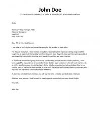 Bank Cover Letter Bank Cover Letter Awesome Cover Letter For Bank