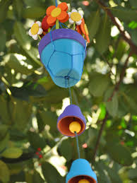 Homemade Wind Chimes How To Make Wind Chimes Out Of Terra Cotta Pots How Tos Diy