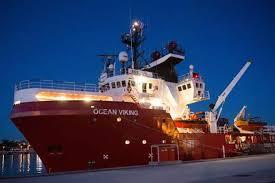 Barco rescatista Ocean Vikings.