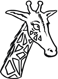Printable Coloring Pages coloring page giraffe : Free Giraffe Coloring Pages
