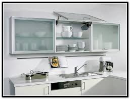cute metal and glass kitchen cabinet doors great stylish frosted top with design 4