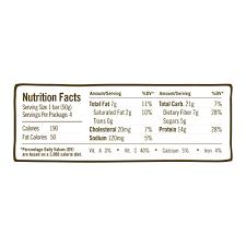 oatmega gr fed whey protein bar lemon chia 14g protein 4 ct walmart