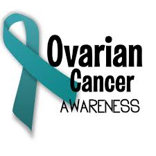 Image result for ovarian cancer ribbon