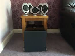 kef egg subwoofer. used kef egg speakers with subwoofer. in cm23 hertfordshire for £ 165.00 \u2013 shpock kef subwoofer m