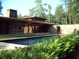 modern stone house design ideas swimming pool features