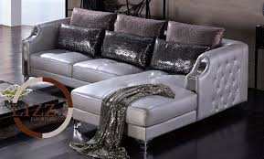 silver furniture home corner sofa china lbz 3077 high quality leather sofa modern sofa mader living room leather sofas in living room sofas from furniture