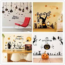 <b>Cartoon</b> Cauldron Spider Witch Wall Sticker <b>Halloween Home Decor</b> ...