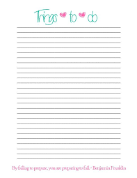 Things To Do List Template Excel Printable Checklist Templates Word ...