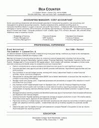 Resume Example For Accounting Position Best Resume For Accounting Job Complete Guide Example 7