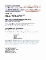 Usa Jobs Resume Writer Federal Resume Writing Service Professional Writers How To Write 29