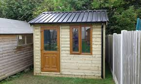 39 10x8 cottage style t g tan shed pvc door window black box profile roof