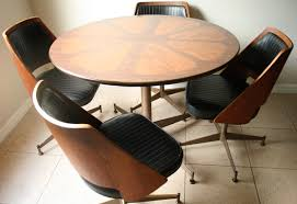 Bentwood Dining Table Mid Century Brody Bentwood Dining Set Retro 1960s
