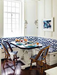Kitchen Seating Indigo Ikat Kitchen Seating Interiors By Color