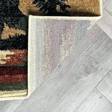 color block rug 8 x 10 area wildlife novelty lodge ivory threshold