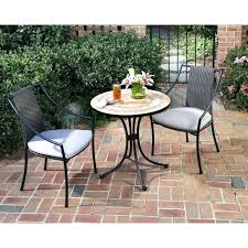 outdoor bistro set clearance best of patio sets or home styles piece tile top with