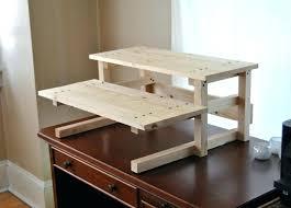 diy sit stand desk plans stand up desk plans sit stand desk plans home design ideas diy sit stand desk
