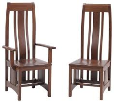 amazing mission style dining chairs with mission dining room craftsman dining chairs