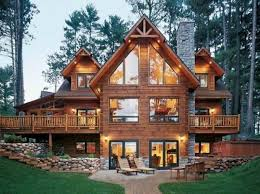 Interior : Traditional Element Of The Log Cabin Homes Interior With Luxury  Design Traditional Element of the Log Cabin Homes Interior Log Houses Log  Home ...