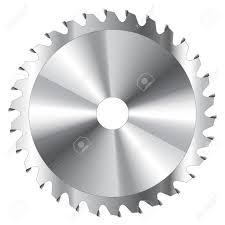 saw blade vector. saw blade wood cutting circular vector o