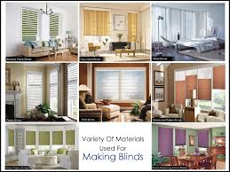Types Of Window Blinds Variety Of Marteials Used For Making Blinds 1307469355jpg