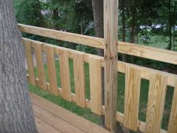 Stylish Tree Fort Deck Railing Village Custom Furniture For Tree Fort Deck  Railing in Deck Railing