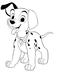 Small Picture 101 Dalmatians Coloring Pages Corresponsablesco