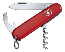 Купить <b>нож перочинный waiter</b> 84мм 9 функций (красный ...