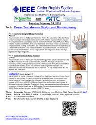 Transformer Design Parameters Topic Power Transformer Design And Manufacturing