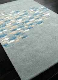 fish area rug starfish area rug fancy fish area rug silver light blue go fish wool fish area rug