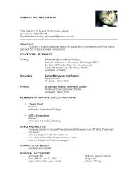 Resume With References Template Fascinating Resume Examples With References Free Resume Template Evacassidyme