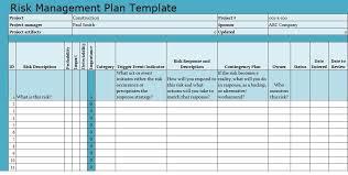 Project Management Templates Risk Management Plan Template Download Projecttactics Project