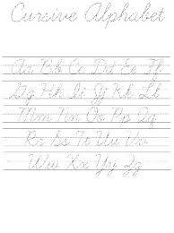 Writing Cursive Letters Worksheets Cursive Writing