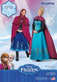 Simplicity Patterns Costumes Beauteous Simplicity Pattern 48Disney Frozen Costumes for Misses