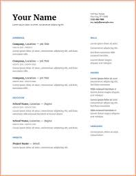 Resume Template Google Docs Resume Format Download Pdf How Google