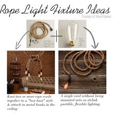 rope lighting ideas. when i saw world market had rope lighting thought it went perfectly with the ideas