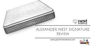 nest alexander mattress review ins