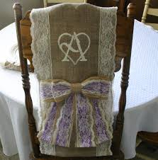 burlap chair cover two bride and groom burlap chair cover wedding chair sash shabby chic country chic rustic chic french country cottage chic