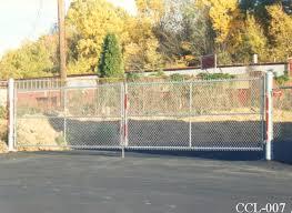 chain link fence double gate. Heavy Duty Double Gates Chain Link Fence Double Gate