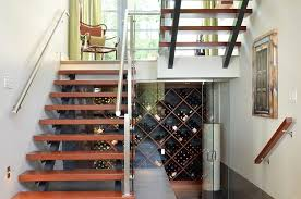 vancouver under stair closet storage with modern wine aerators and stoppers cellar contemporary wall art